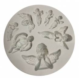 Mould in silicone Angels