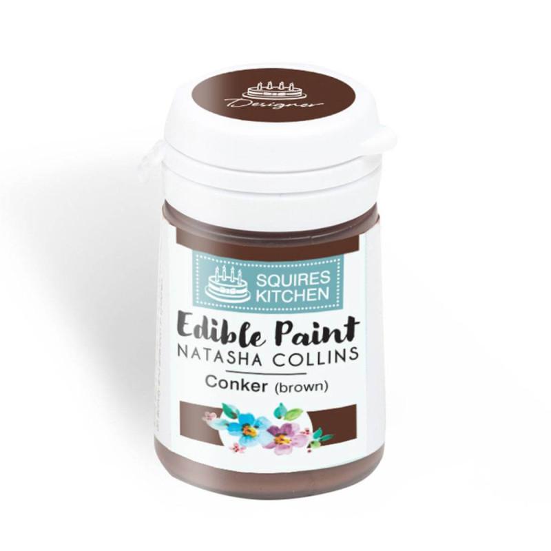 Edible Paint BROWN colour Squires Kitchen