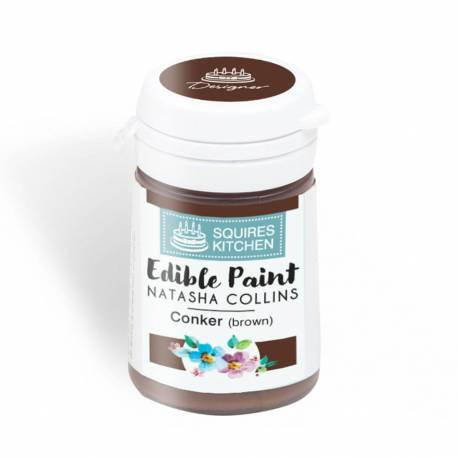 Squires Kitchen Brown Food Paint