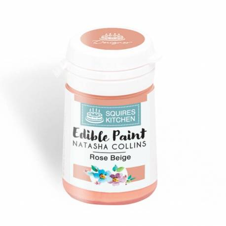 Edible Paint SALMON PINK colour Squires Kitchen