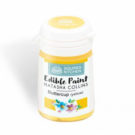 Edible Paint YELLOW colour Squires Kitchen