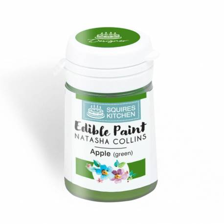 Squires Kitchen green food paint