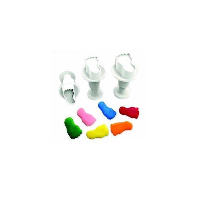 Set of 3 mini FEET plunger cutters