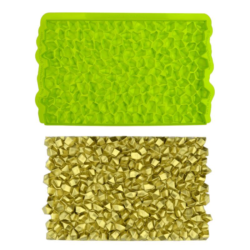 MARVELOUS MOLD 3D Esterilla de impresión con efecto diamante