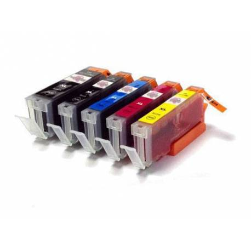 Set of 5 V2 cartridges filled with edible ink