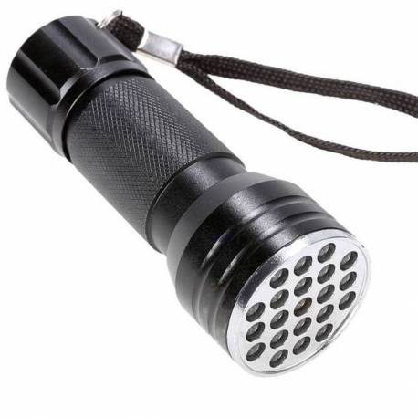 Ultra Violet UV Flashlight - 21 LEDs