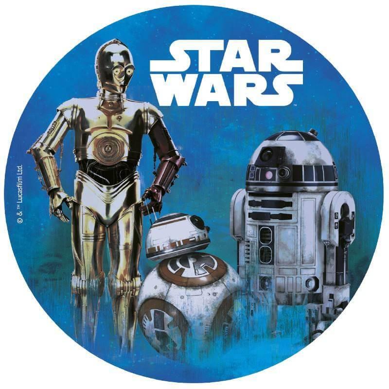 Star Wars Edible wafer disc 20 cm