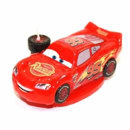 3D Cars lightning Mcqueen candle
