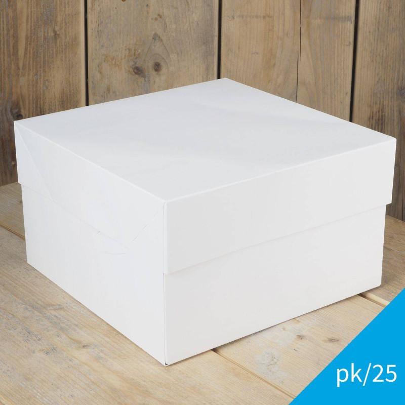 Set de 25 Boîtes à Gateaux FunCakes 25x25x15 cm