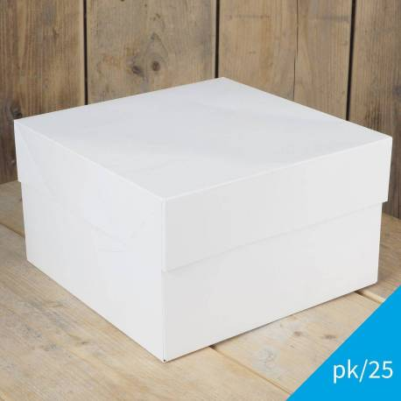 Set de 25 Boîtes à Gateaux FunCakes 35x35x15 cm