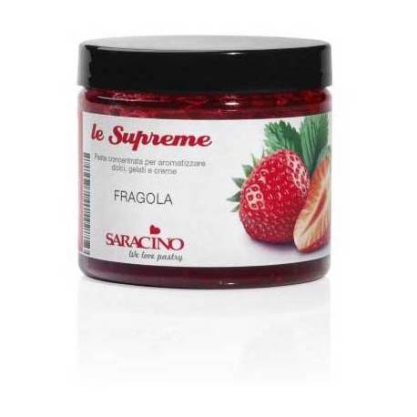 Concentrated paste Le Suprême Strawberry Saracino 200G