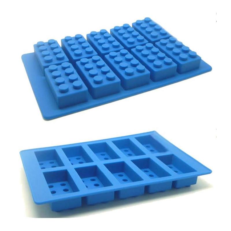 Moldes de silicona Bloques de Lego