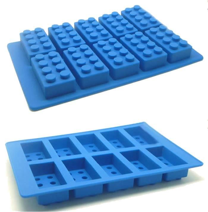 Silicone mold Lego blocks - PLANETE GATEAU - Cake design et