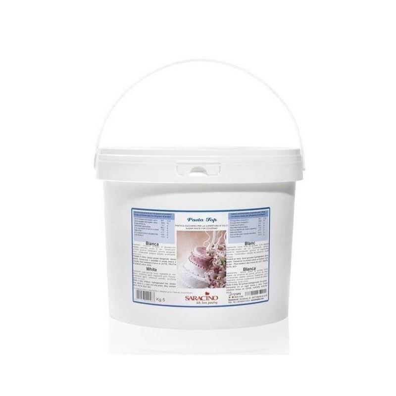 TROPICAL Sugar Paste Pasta Top SARACINO 5 KG WHITE