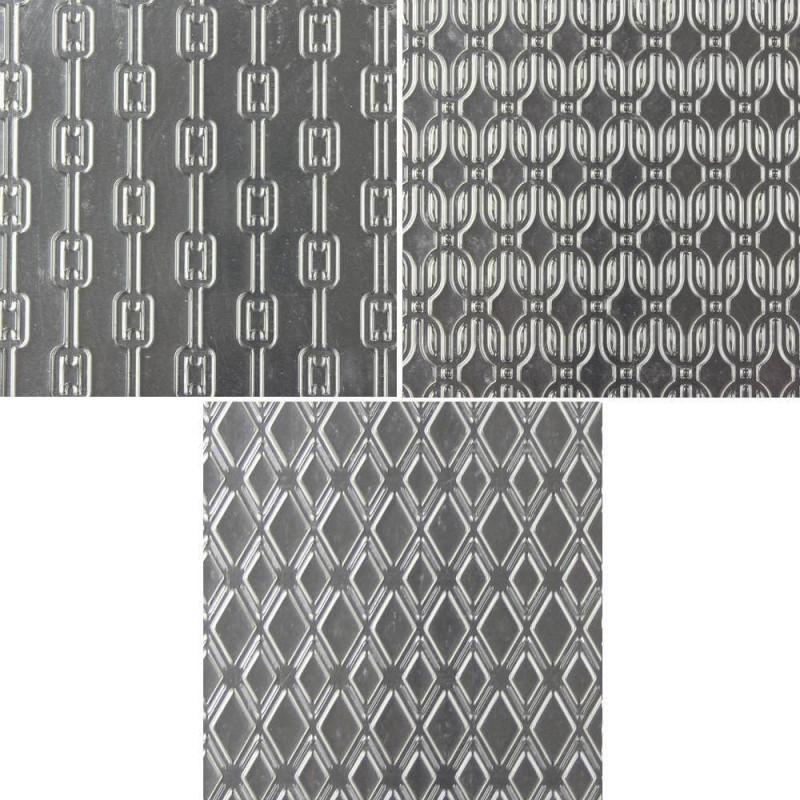 3 Tapis Texture Mailles