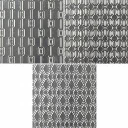3 Tapis Texture Mailles