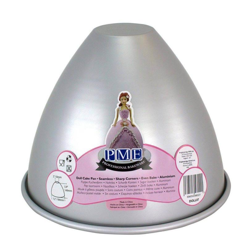 Moule cuisson Poupée Dome 18 cm