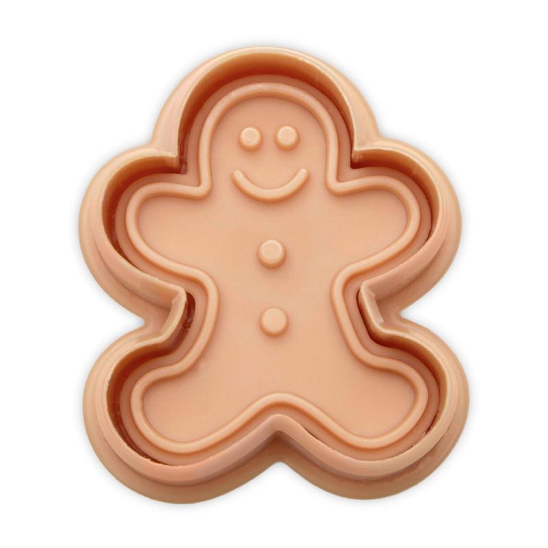 Emporte pièce à piston Bonhomme Gingerbread 5 cm
