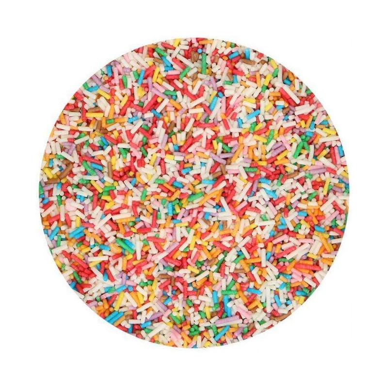 Vermicelles Multicolores en sucre 80G