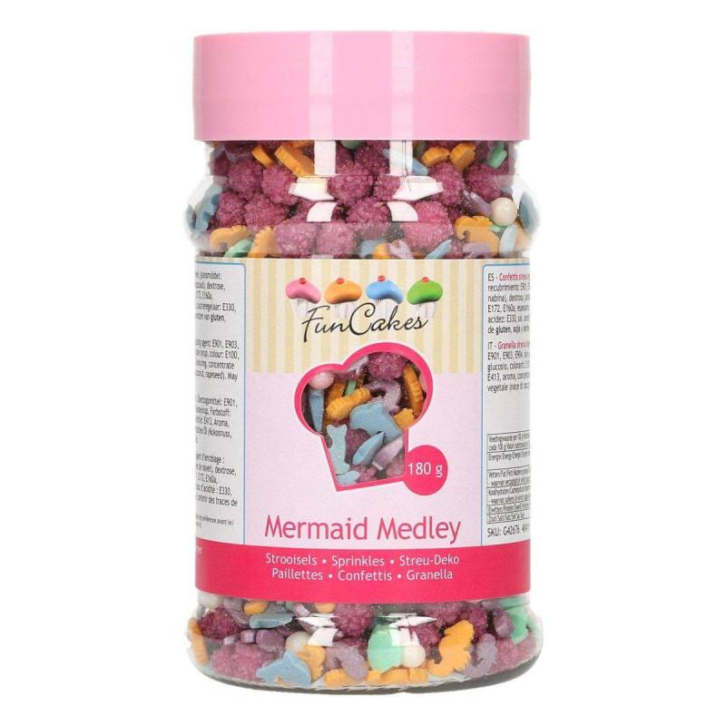 Confettis en sucre Medley Sirène 180G