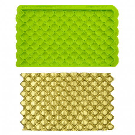 Simpress mould with quilted effect Marvelous Mold