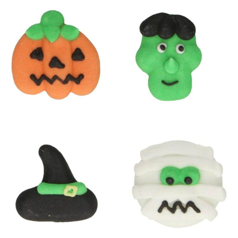 Set de 8 Décoration en sucre Halloween Fun Cakes