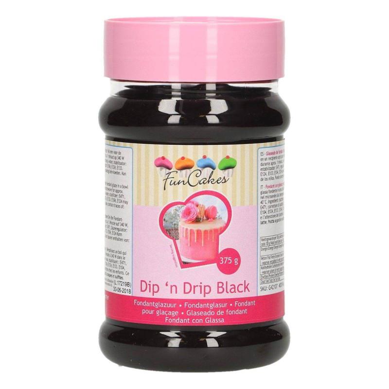 Black Icing Dip'n Drip Fun Cakes 375 G