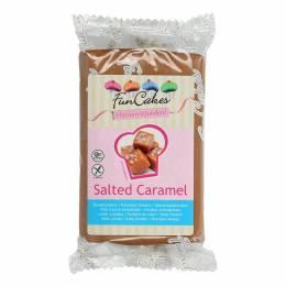 Pâte à Sucre FUN CAKES MARRON aromatisé Caramel Salé 250 g