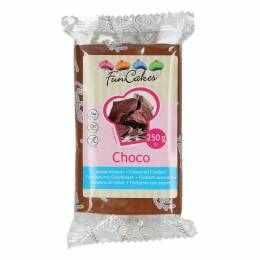 FUN CAKES flavored chocolate 250 G brown sugar paste