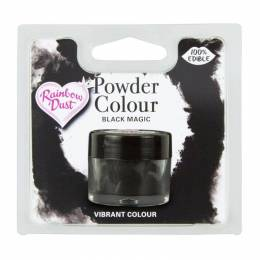 Powder BLACK MAGIC colour Rainbow Dust