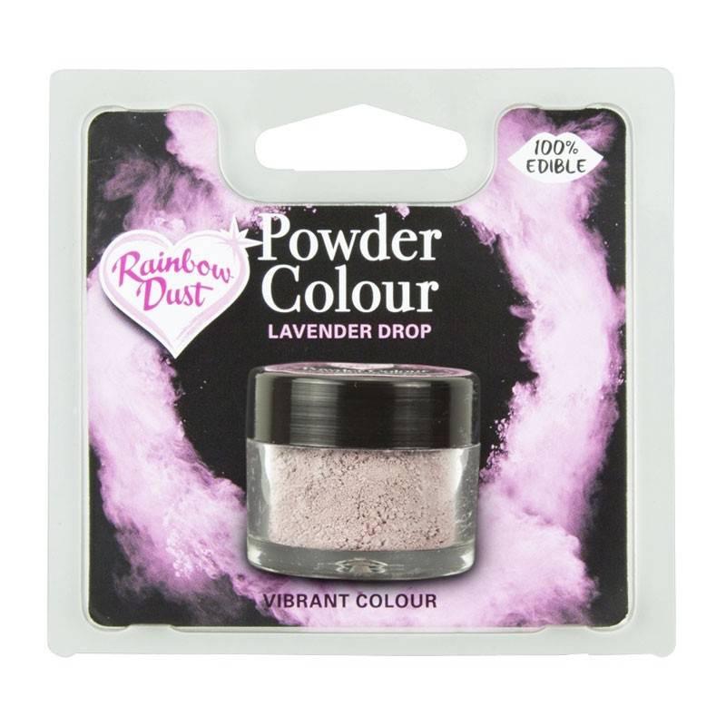 LAVANDA Polvo de Polvo Rainbow Dust Agente colorante