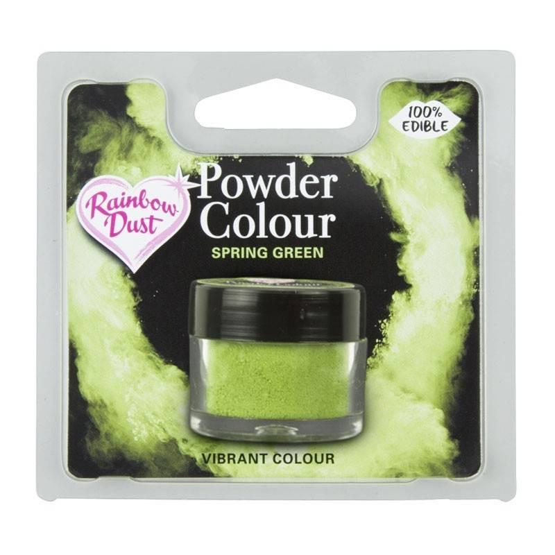 Powder SPRING GREEN colour Rainbow Dust