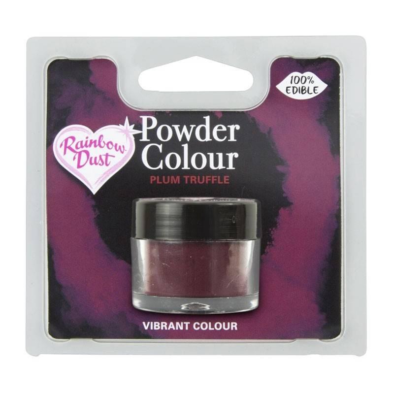 Colorant violet aubergine en poudre Rainbow Dust