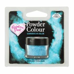 Dye powder blue Caribbean Rainbow Dust