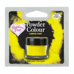 Dye powder tart lemon Rainbow Dust