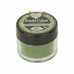 Dye powder green Olive Rainbow Dust