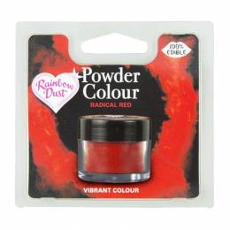 Polvo Rainbow Dust Radical Red Dye Powder