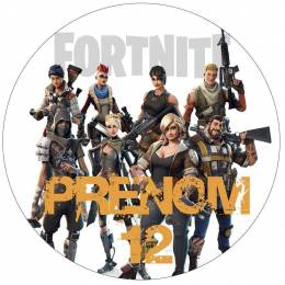 Personalized edible printing FORTNITE video game