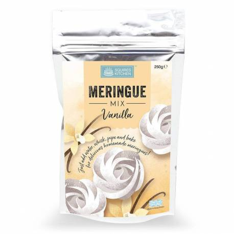 Mix pour Meringue Vanille Squires Kitchen 250G