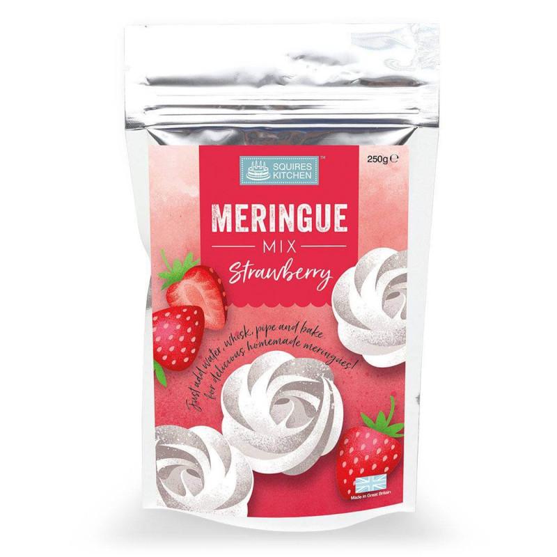 Mix pour Meringue Fraise Squires Kitchen 250G