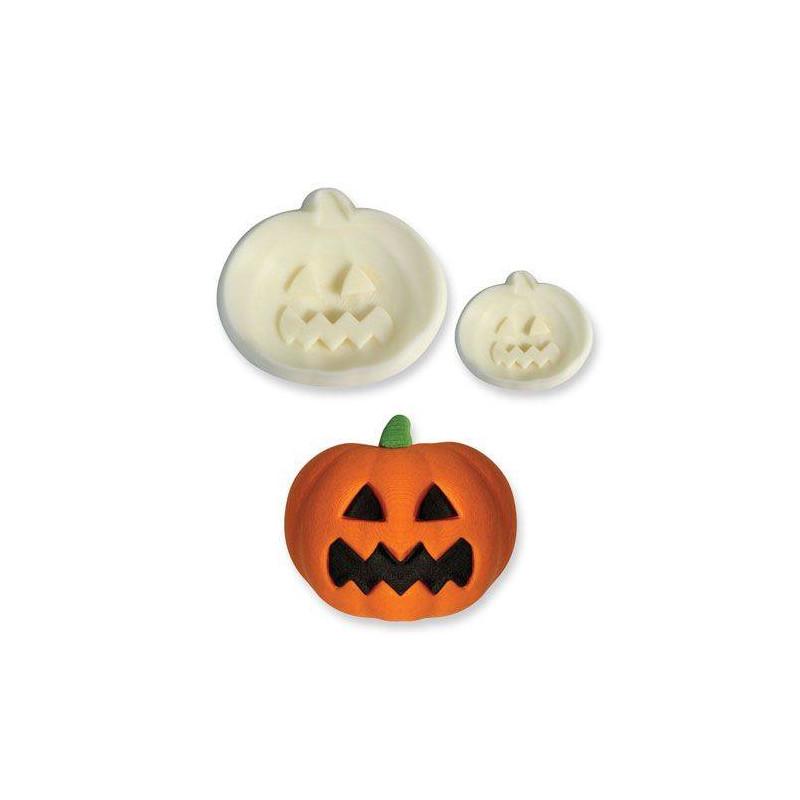 Set de 2 cortadores Calabazas halloween 3D