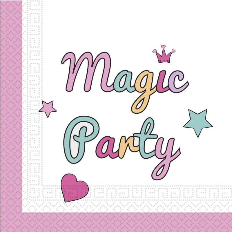 20 Towels unicorn PARTY