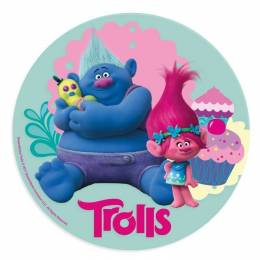 Unleavened disc Trolls - Poppy and his friend
