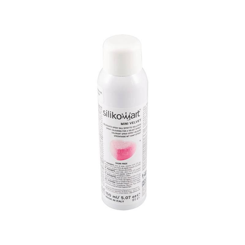 Velvet effect spray ROSE Silikomart 150 ml