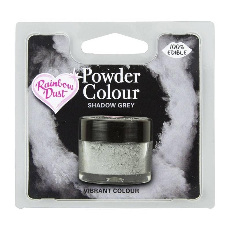 Powder SHADOW GREY colour Rainbow Dust