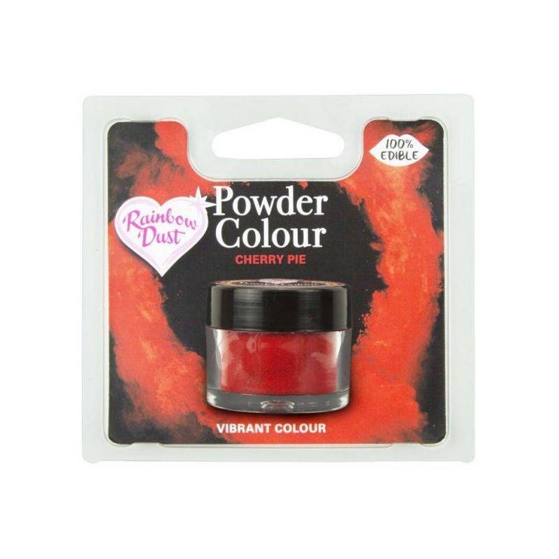Colorante alimenticio en polvo rojo cereza Rainbow Dust
