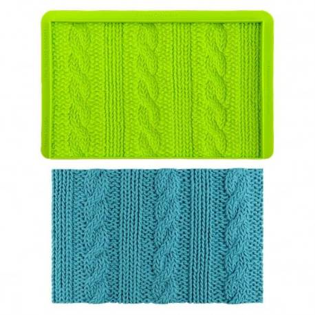 Tapis d'impression effet tricot MARVELOUS MOLDS