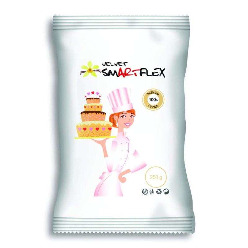 SMARTFLEX White Vanilla Sugar Paste 250 g