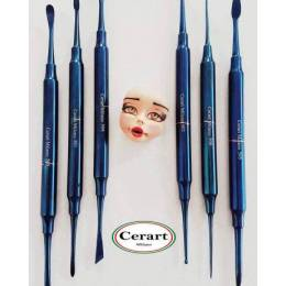 Kit de 6 herramientas de modelado BLUE DIAMONDS CERART