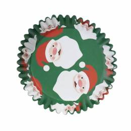 30 cups cupcake Father Christmas PME
